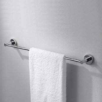 Haceka Kosmos Towel Rail, 613mm Wide, Chrome