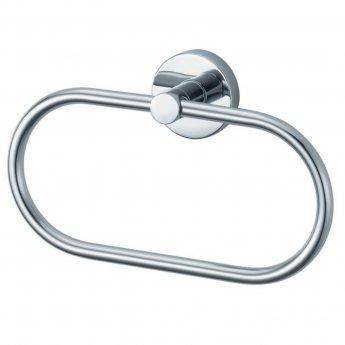Haceka Kosmos Towel Ring Holder - Chrome