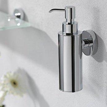 Haceka Kosmos Metal Soap Dispenser, Chrome