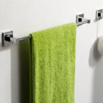 Haceka Mezzo Towel Rail, 600mm Wide, Chrome