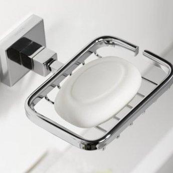 Haceka Mezzo Wire Soap Holder, Chrome
