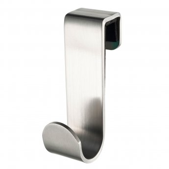 Haceka Selection Short Robe Hook, Stainless Steel