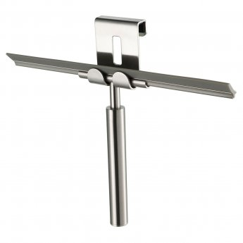 Haceka Selection Glass Wiper - Brushed Stainless Steel