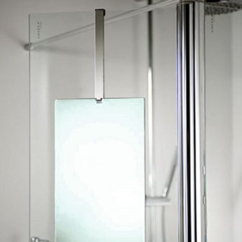 Haceka Selection Bathroom Mirror Polished Silver Frame