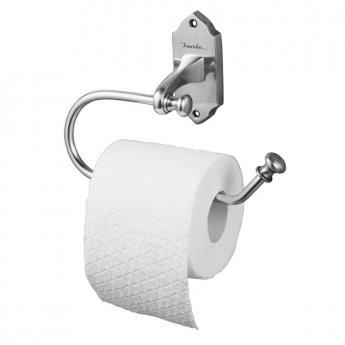 Haceka Vintage Toilet Roll Holder - Silver