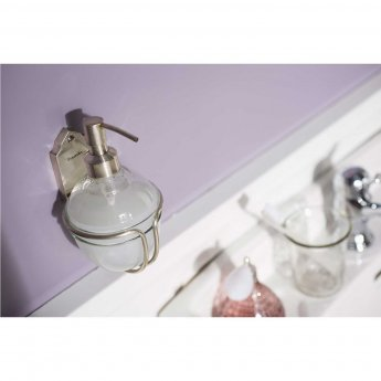 Haceka Vintage Soap Dispensers - Silver
