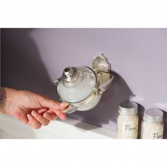 Haceka Vintage Soap Tumbler - Silver