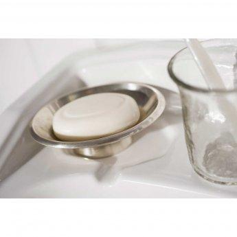 Haceka Vintage Modern Soap Dish - Silver