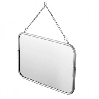 Haceka Vintage Bathroom Mirror - Silver