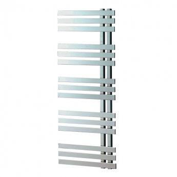 Heatwave Cobham Designer Heated Towel Rail 1200mm H x 500mm W - Chrome