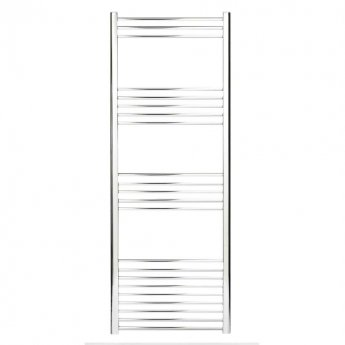 Heatwave Hamilton Curved Heated Towel Rail 1200mm H x 400mm W - Chrome