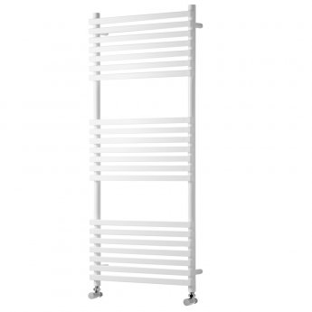 Heatwave Oxfordshire Designer Heated Towel Rail 1500mm H x 500mm W - White