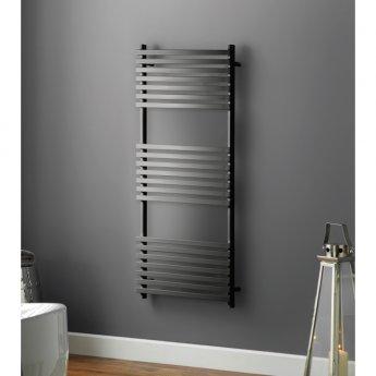 Heatwave Oxfordshire Designer Heated Towel Rail 1186mm H x 500mm W - Anthracite