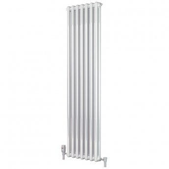 Heatwave Windsor 2 Column Vertical Radiator 1800mm H x 394mm W - 8 Section
