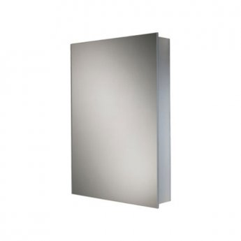 HiB Callisto Aluminium Bathroom Cabinet 700mm H x 500mm W x 100mm D
