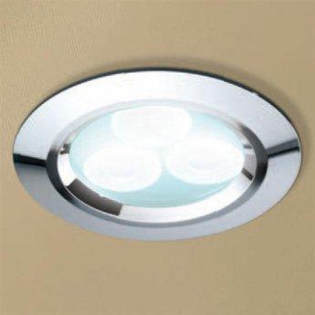 HiB Cool White LED Showerlight - Chrome