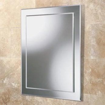 HiB Olivia Designer Bathroom Mirror 600mm H x 400mm W