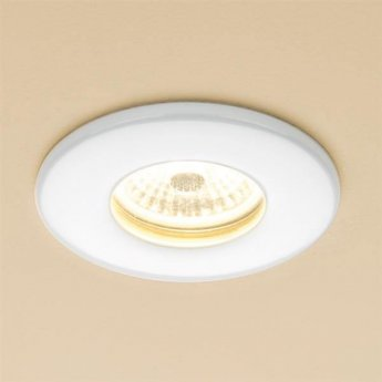 HiB Infuse Warm Fire Rated LED Showerlight - White