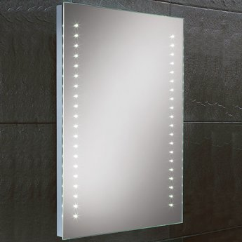 HiB Lucca Demistable LED Bathroom Mirror 700mm H x 500mm W