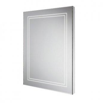HiB Outline 50 LED Back-Lit Bathroom Mirror 700mm H x 500mm W