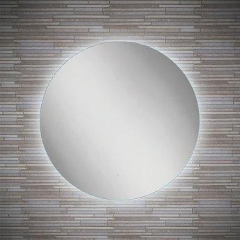 HiB Theme 60 Round LED Bathroom Mirror 600mm Diameter