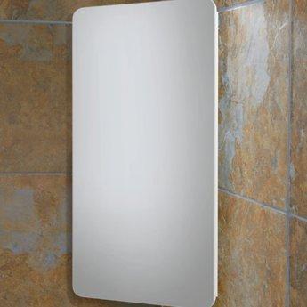 HiB Turin Mirrored Bathroom Cabinet 600mm H x 300mm W x 180mm D