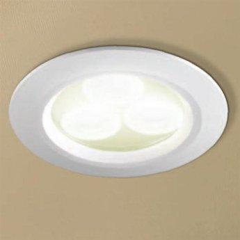 HiB Warm White LED Showerlight - Chrome