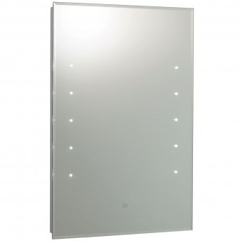 Hudson Reed Alcina Bathroom Mirror 700mm H x 500mm W - Chrome