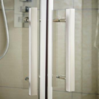 Hudson Reed Apex Sliding Shower Door 1100mm Wide - 8mm Glass