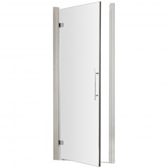 Hudson Reed Apex Hinged Shower Door 700mm Wide - 8mm Glass