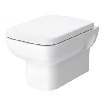 Hudson Reed Arlo Wall Hung Pan 350mm Wide Soft Close Seat
