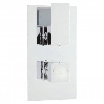 Hudson Reed Art Concealed Shower Valve Dual Handle - Chrome