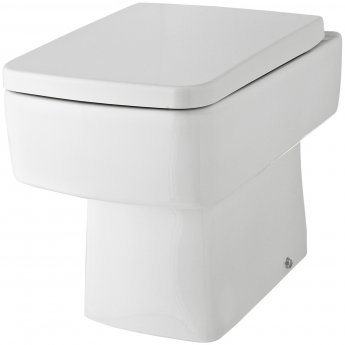Hudson Reed Bliss Back to Wall Pan 350mm Wide - Soft Close Seat
