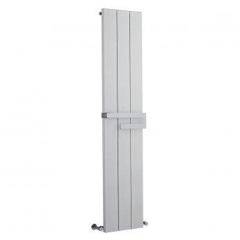 Heatwave Aluminium Designer Vertical Radiator 1800mm H x 370mm W - White