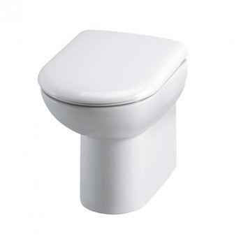 Hudson Reed Comfort Height Back To Wall Toilet Pan 542mm Projection - Soft Close Seat