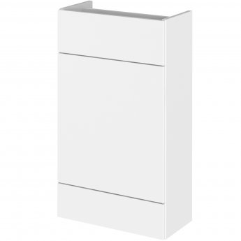 Hudson Reed Compact Fitted WC Unit 500mm Wide - Gloss White