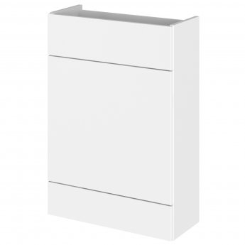 Hudson Reed Fusion Compact Combination Unit with 600mm WC Unit - 1200mm Wide - Gloss White