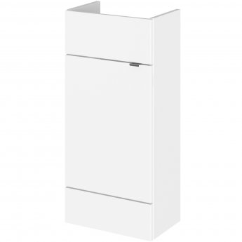 Hudson Reed Fusion Compact Vanity Unit 400mm Wide - Gloss White