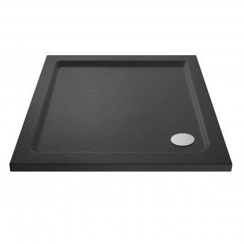 Hudson Reed Square Shower Tray 800mm x 800mm - Slate Grey