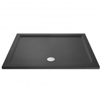 Hudson Reed Rectangular Shower Tray 1400mm x 700mm - Slate Grey