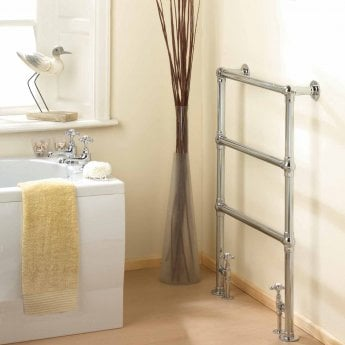 Hudson Reed Countess Traditional Heated Towel Rail 966mm H x 676mm W Chrome