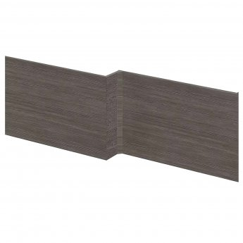 Hudson Reed MFC Shower Bath Front Panel 520mm H x 1700mm W - Brown Grey Avola