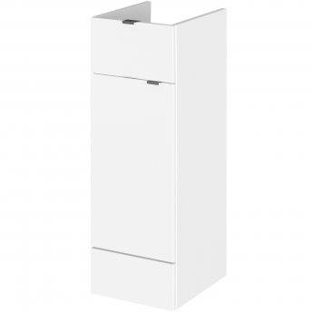 Hudson Reed Fitted Base Unit with 1 Drawer 300mm Wide - Gloss White