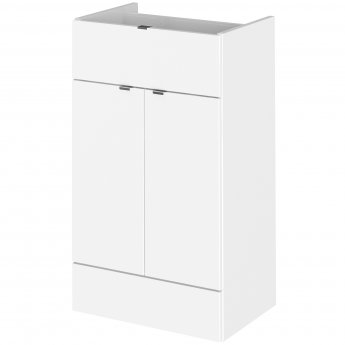 Hudson Reed Fitted Base Unit 500mm Wide - Gloss White