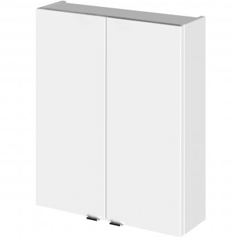 Hudson Reed Fitted Wall Unit 500mm Wide - Gloss White