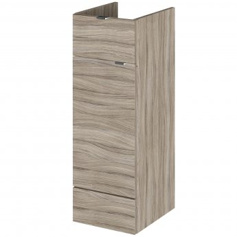 Hudson Reed Fitted Base Unit with 1 Drawer 300mm Wide - Driftwood