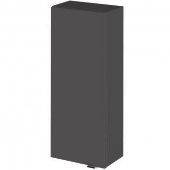 Hudson Reed Fitted Wall Unit 300mm Wide - Gloss Grey