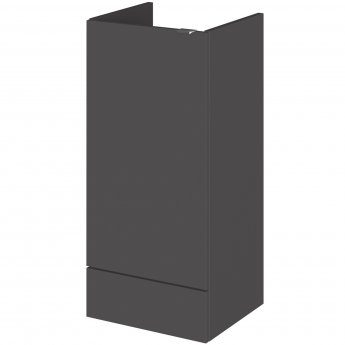 Hudson Reed Fitted Base Unit 400mm Wide - Gloss Grey