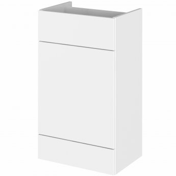 Hudson Reed Fitted WC Unit 500mm Wide - Gloss White
