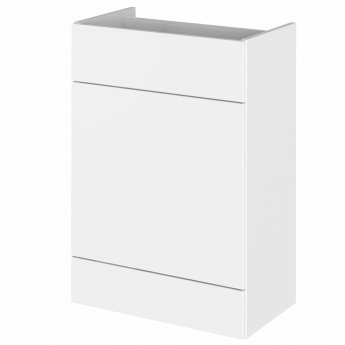 Hudson Reed Fitted WC Unit 600mm Wide - Gloss White